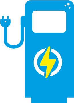 Symbol E-Auto Ladestation