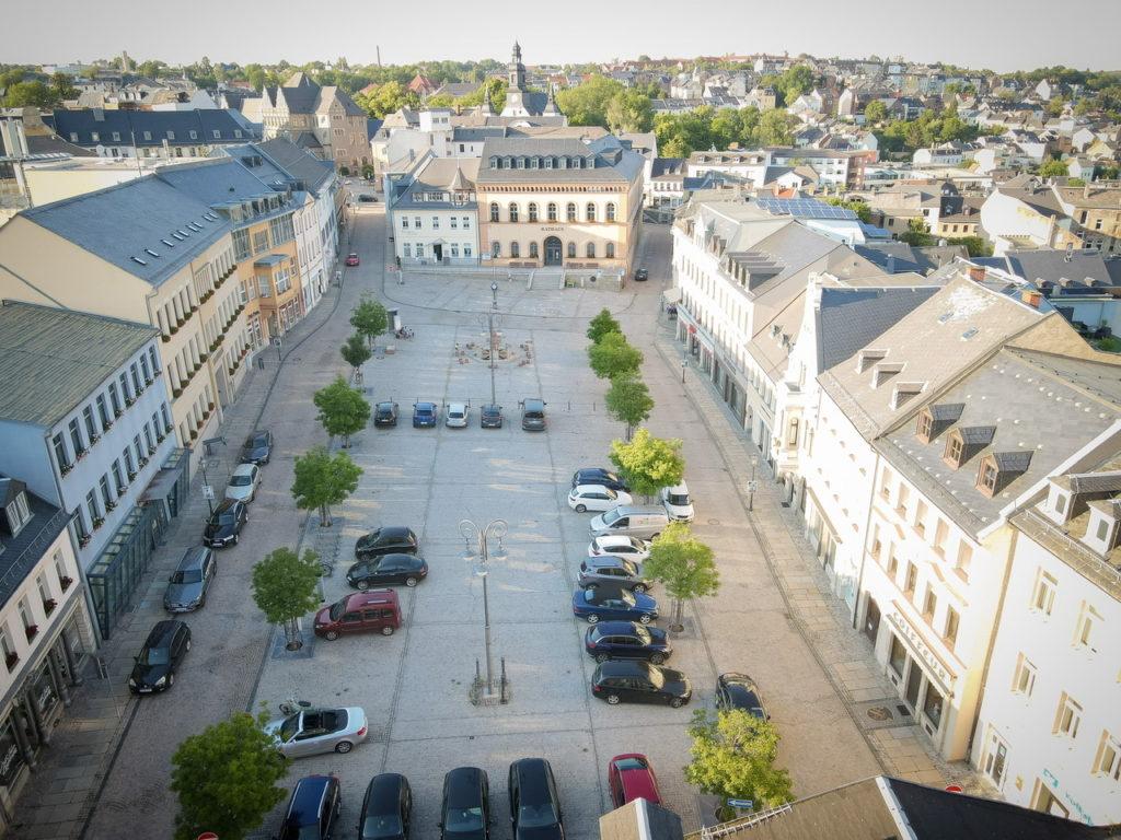 Parkplatz Marktplatz