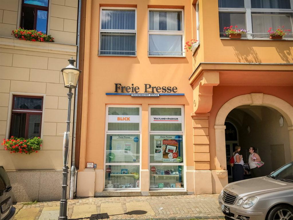 Freie Presse Shop