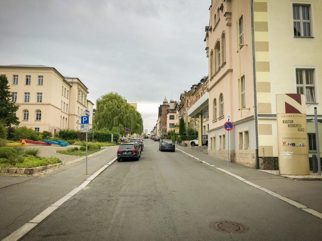 Parkplätze Weinholdstraße