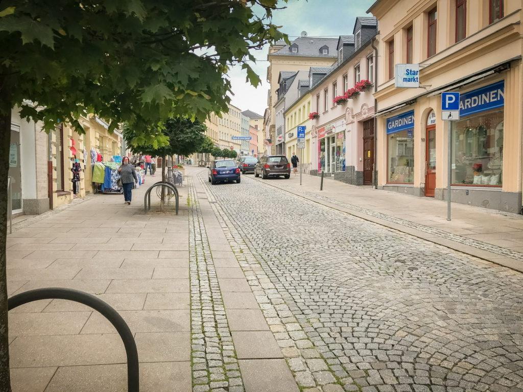 Parkplätze Zwickauer Straße