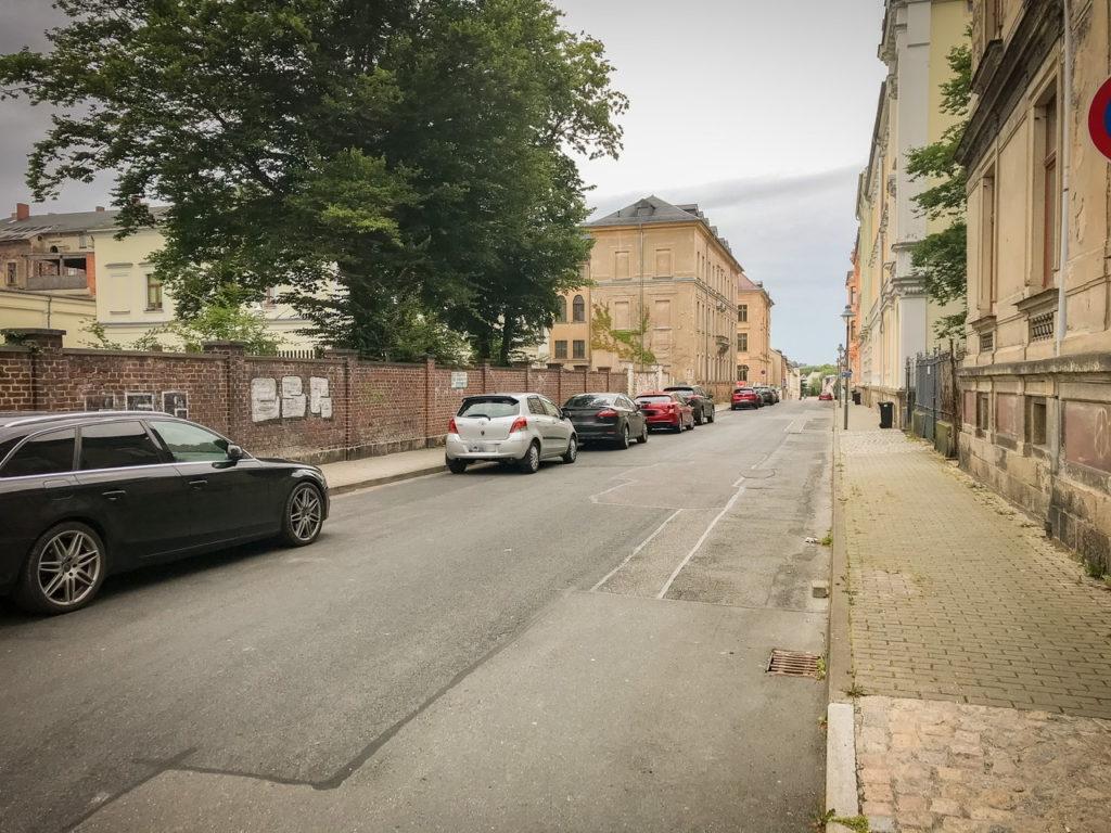 Parkplätze Weststraße