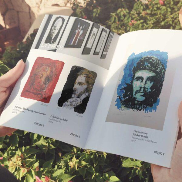 Innenseite Katalog Armin Mueller-Stahl