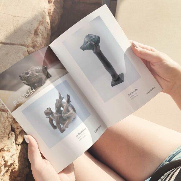 Innenseiten Katalog Günter Grass