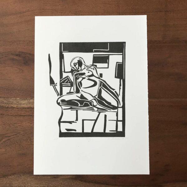Linolschnitt ibug