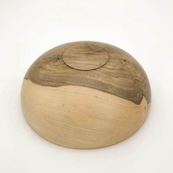 Schale Ø 22 cm, Nussbaum