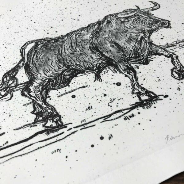 Detail Lithografie Ramón