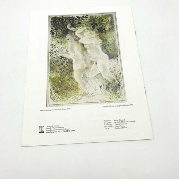 Rückseite: Katalog Zeichnungen 1970-2000 Usula Mattheuer-Neustädt