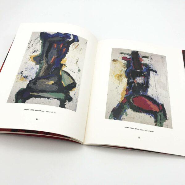 Innenansicht: Hartmuth Hornung, Skulpturen, Zeichnungen, Malerei