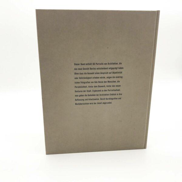 Titel: Berlin, Architekten, Portraits, Fotografien von Udo Hesse