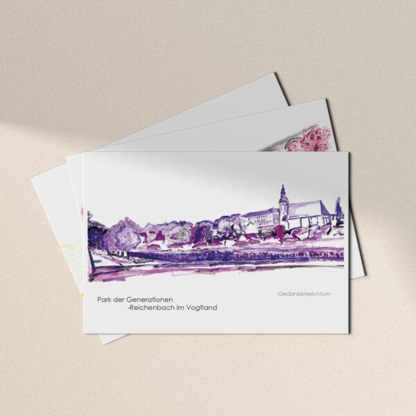 Postkarten Reichenbacher Ansichten