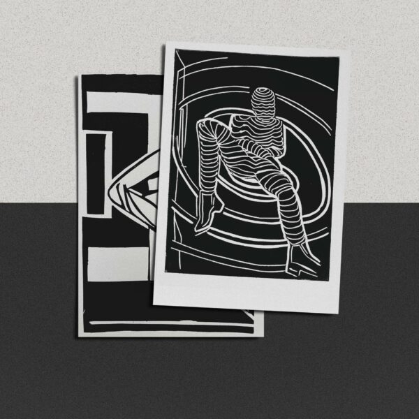 "Postkarte Katja Blechschmidt ""Bild zur freien Interpretation"""