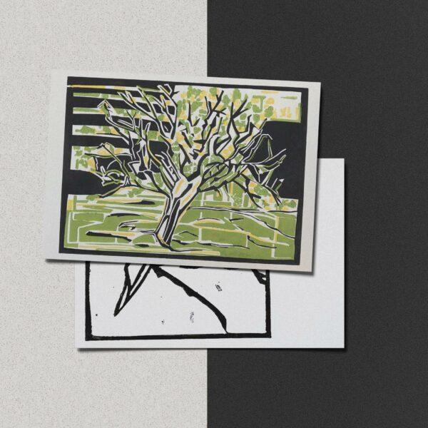 """Postkarte Katja Blechschmidt """"Sommer"""""""