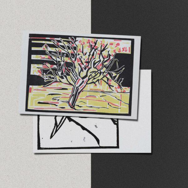 """Postkarte Katja Blechschmidt """"Herbst"""""""
