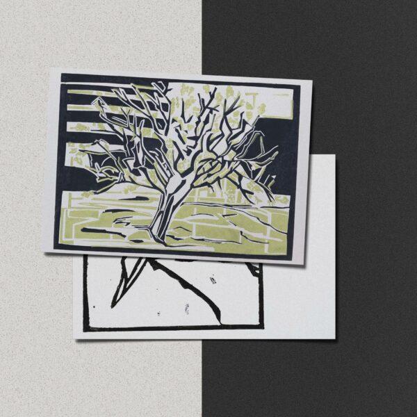 "Postkarte Katja Blechschmidt ""Frühling"""