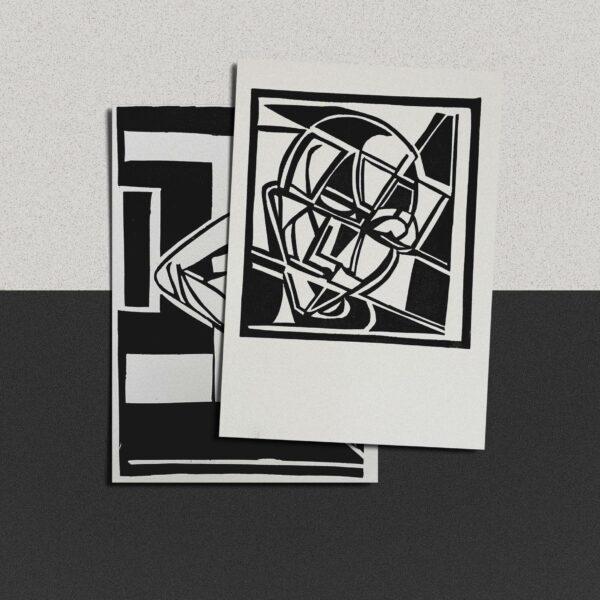 "Postkarte Katja Blechschmidt ""innerhalb"""
