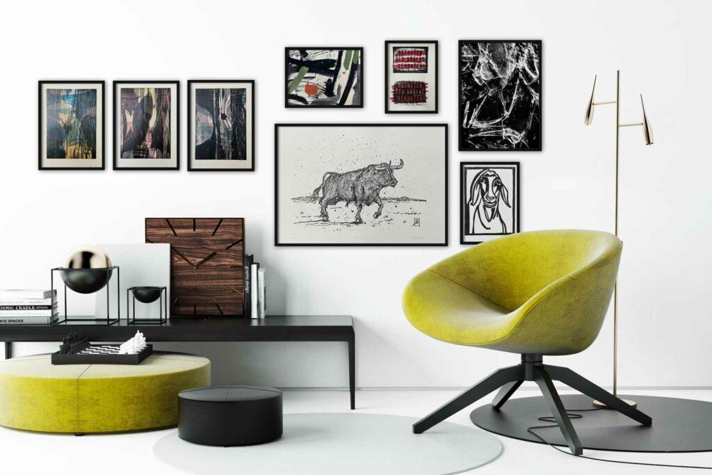 Bilddarstellung von verschiedenen Kunstwerken